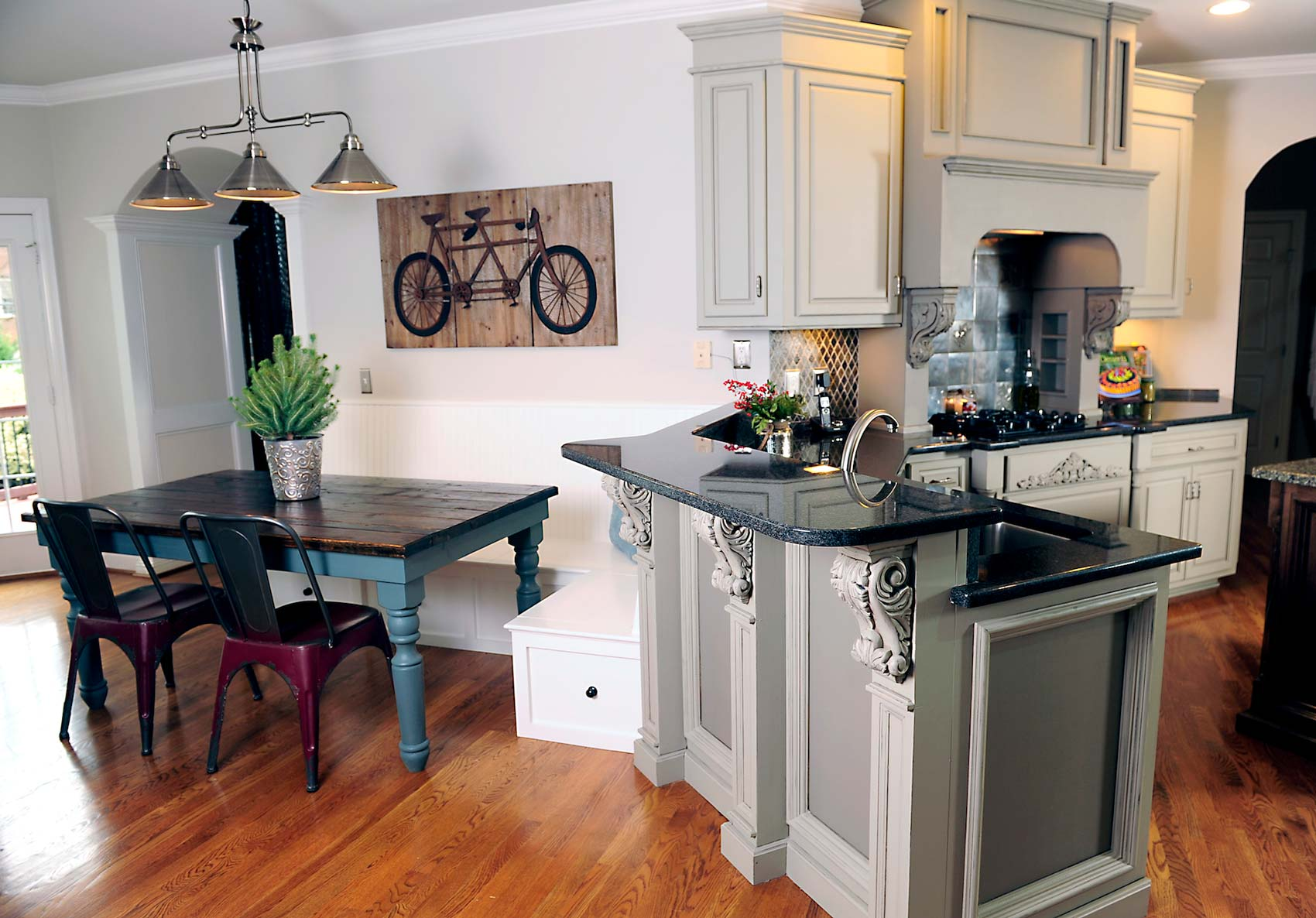 have you considered grey kitchen cabinets grey kitchen cabinets Painted Gray Cabinets by Bella Tucker Decorative Finishes