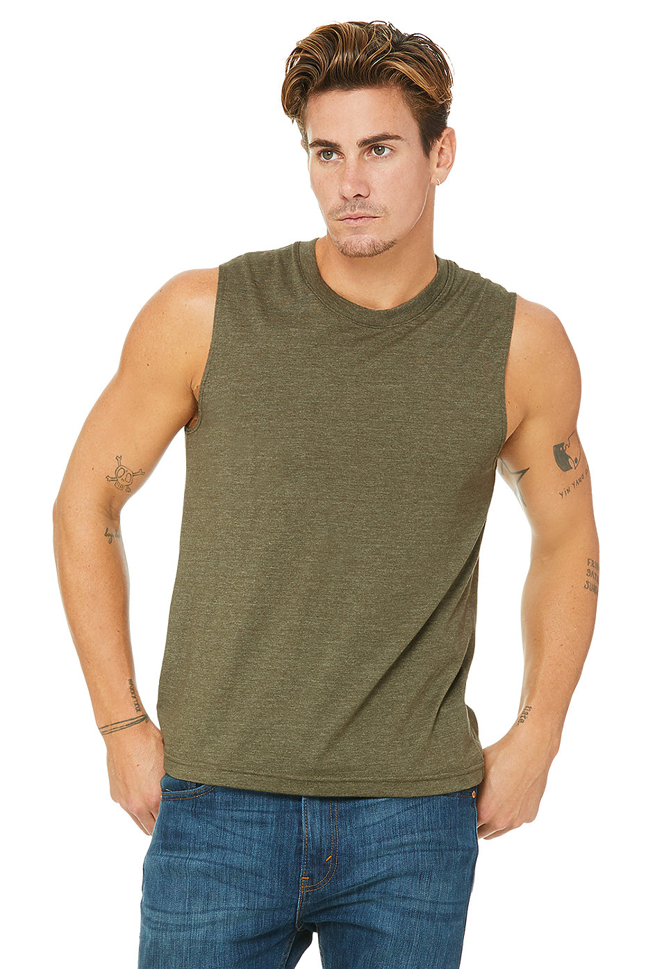 Muscle Shirt Unisex Jersey Muscle Tank Bella Canvas Bella Canvas