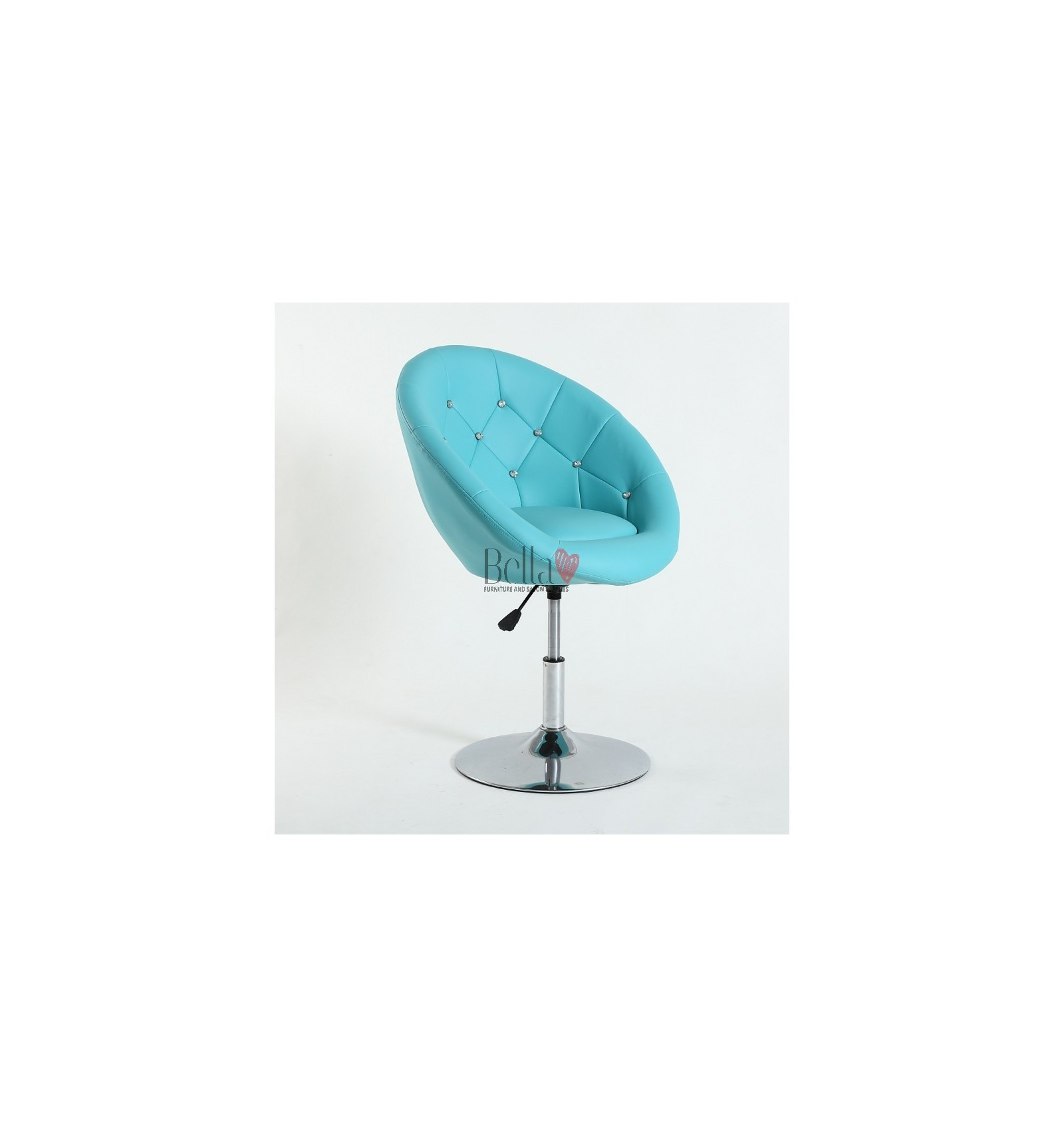 Salon Turquoise Beauty And Hair Chairs For Sale Gas Lift Height Adjustment