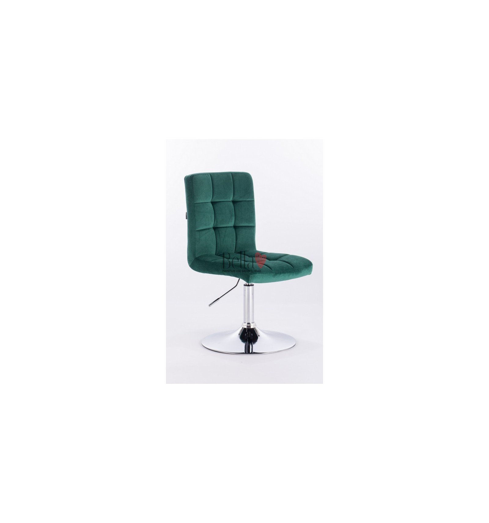 Salon Turquoise Elegant Salon Chairs With Chrome Base Perfect For Beauty