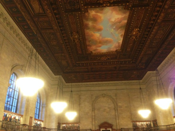 The New York Public Library.  So beautiful.