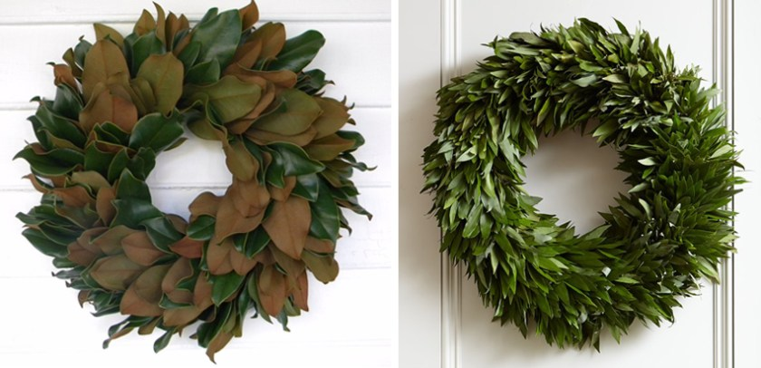 http://alicelanehome.com/fresh-garlands-and-wreaths/