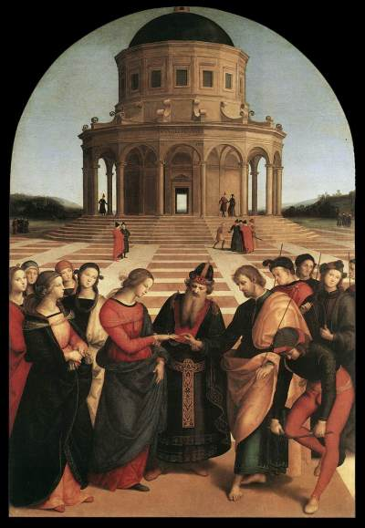 Rafael The Engagement of the Virgin Mary
