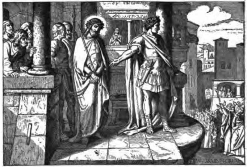 Pilate and Christ