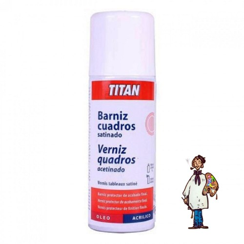 Cuadros Spray Barniz Cuadros Mate Opal Titan 100ml - Bellas Artes Tex