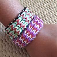 Les bracelets en élastiques ? La folie des 5-12 ans...