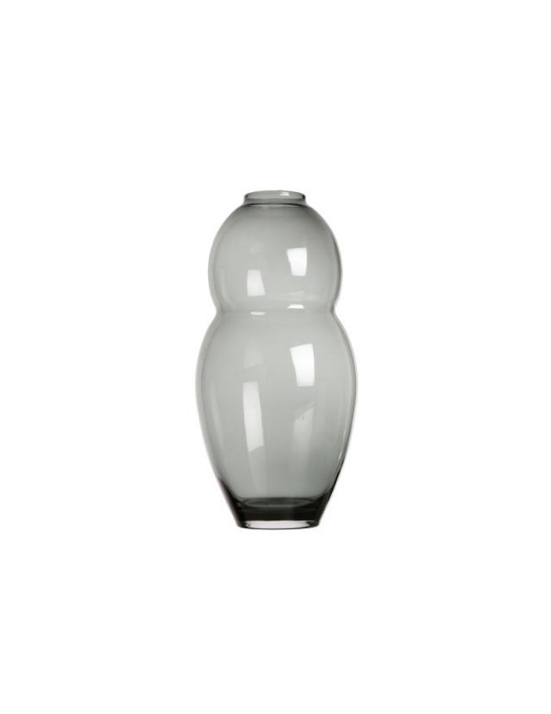 Vase Grau Vase Belly Double Grau Scapa Home