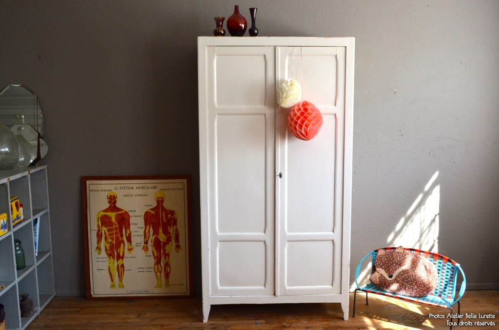 Renovation Armoire Armoire Parisienne Suzel | L'atelier Belle Lurette