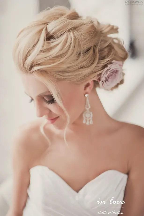 Gorgeous Wedding Hairstyles And Makeup Ideas - Crazyforus