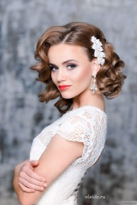 Gorgeous Wedding Hairstyles and Makeup Ideas - Belle The ...