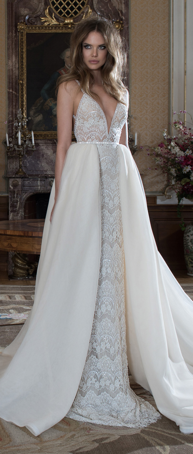 bridal trends wedding dresses with detachable skirts detachable wedding dresses Wedding Dress by Berta Bridal Fall