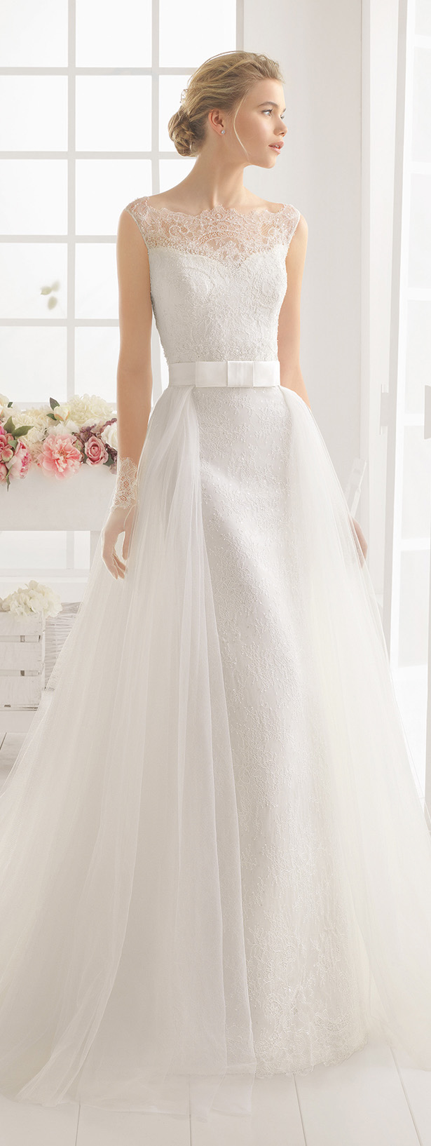 detachable skirt wedding gown detachable wedding dress Bridal Trends Wedding Dresses With Detachable Skirts Belle The