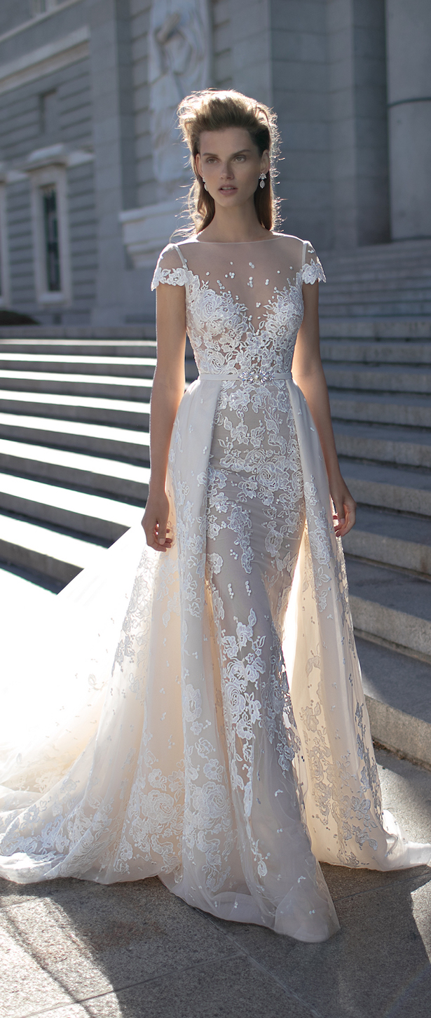 bridal trends wedding dresses with detachable skirts detachable wedding dress From Berta Bridal Spring