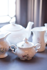 Wedding tea set - Melissa Sigler Photography - Belle The ...