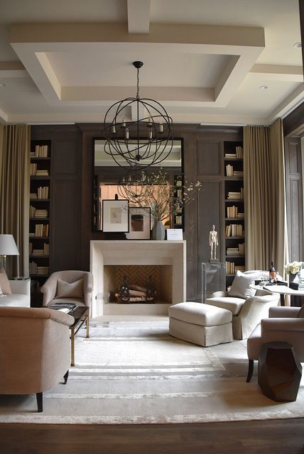 7 Transitional Style Living Rooms - - transitional style living room
