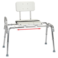 Eagle Health Snap-N-Save Sliding Transfer Bench with ...