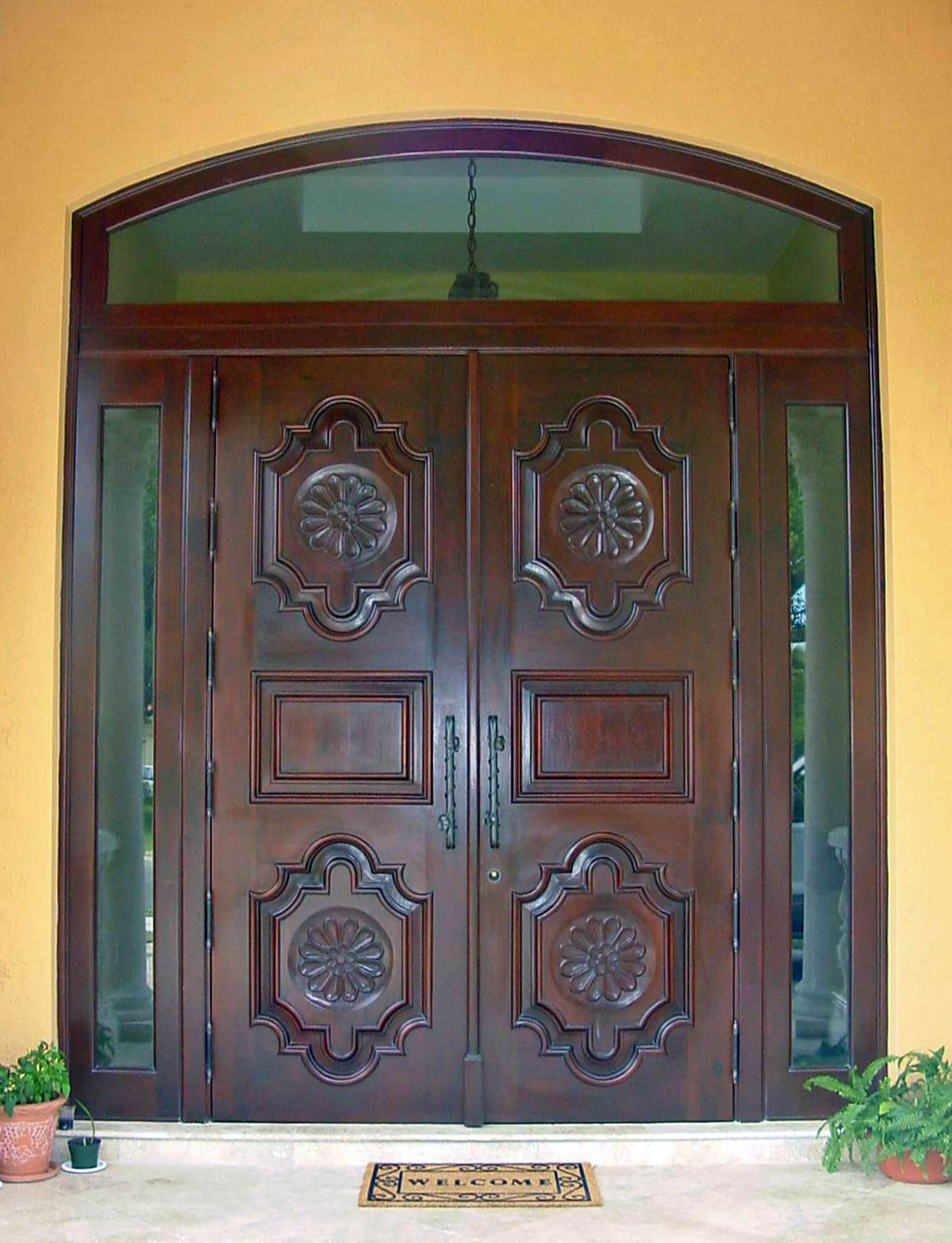 Entrance Doors Mahogany Exterior Doors Bellini Mastercraft
