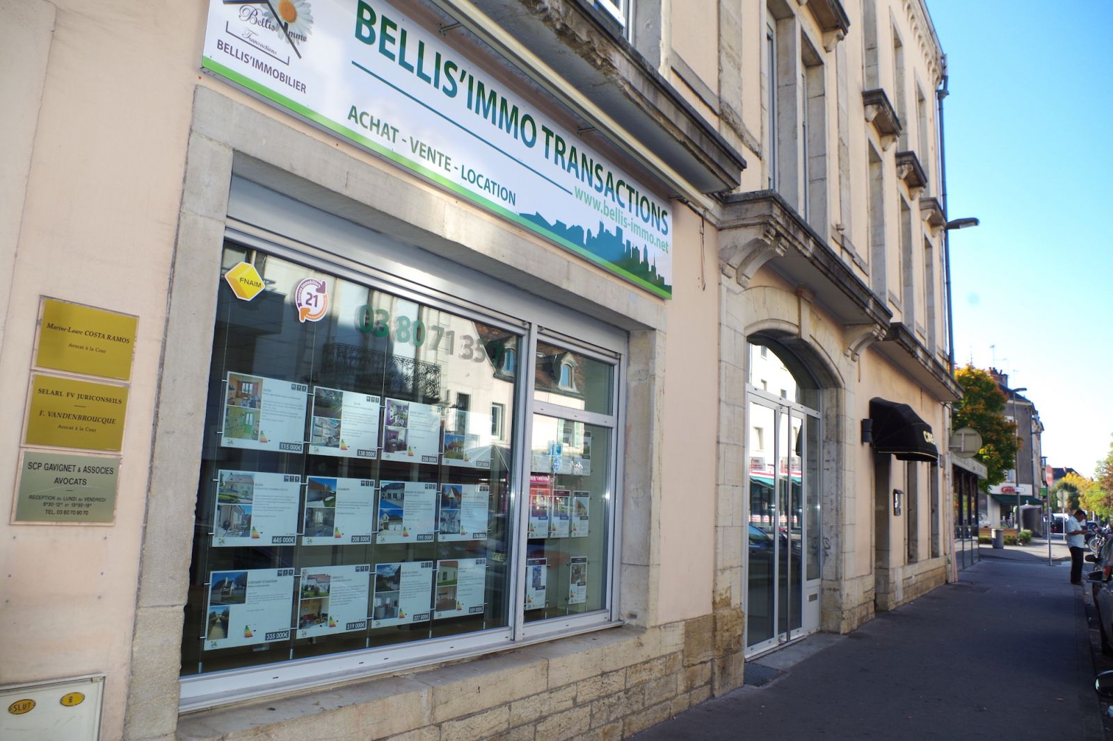 Cabinet Neyrat Dijon Agence Immobilière Bellis Immo Transactions