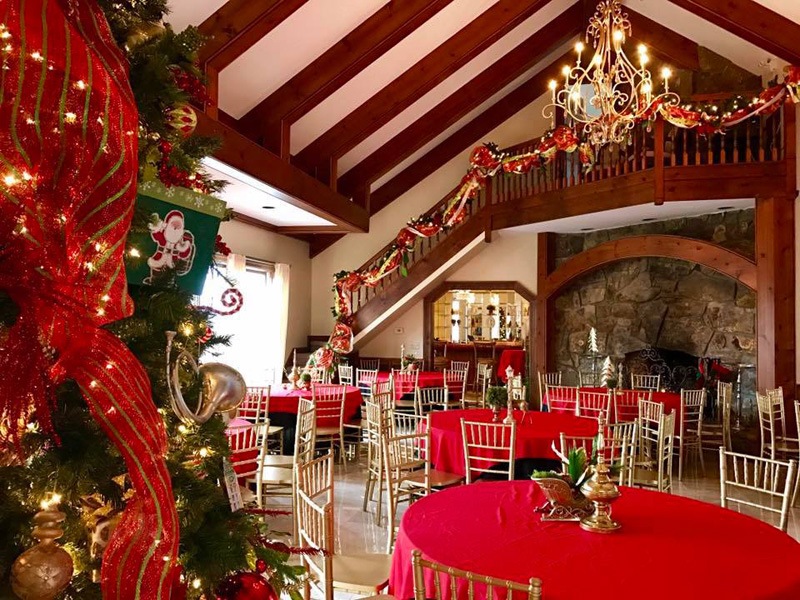 Bell Mill Mansion Corporate Holiday Parties, Business Christmas
