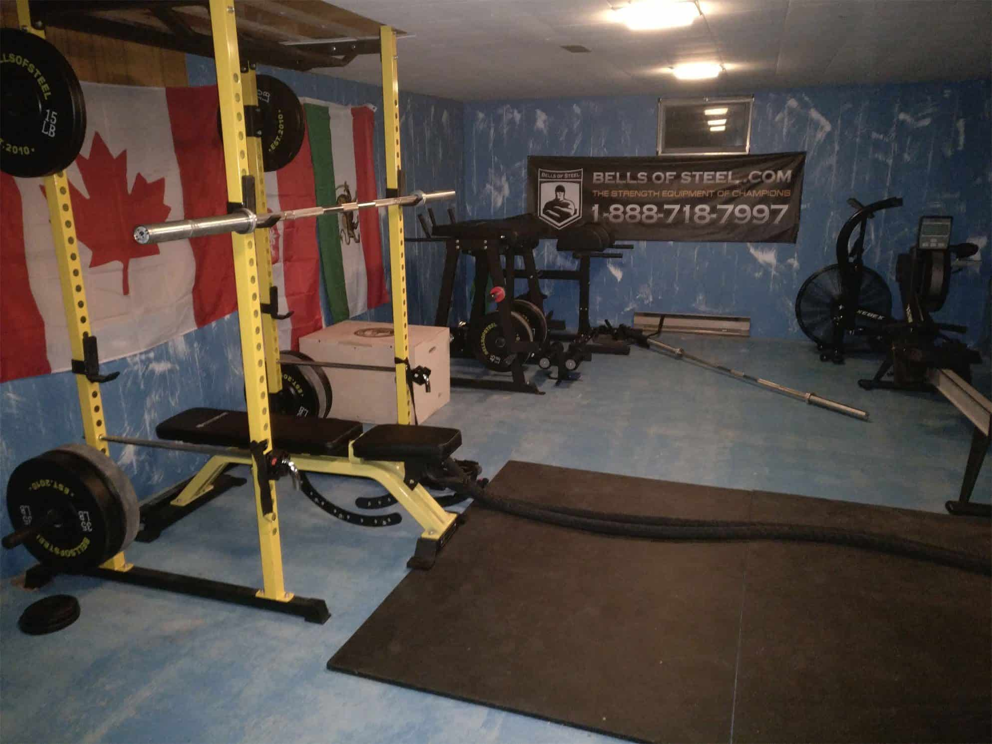Garage Gym Reviews Diy Platform Home Gym How To Create The Ultimate House Of Strength