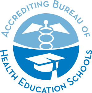 ABHES logo blue