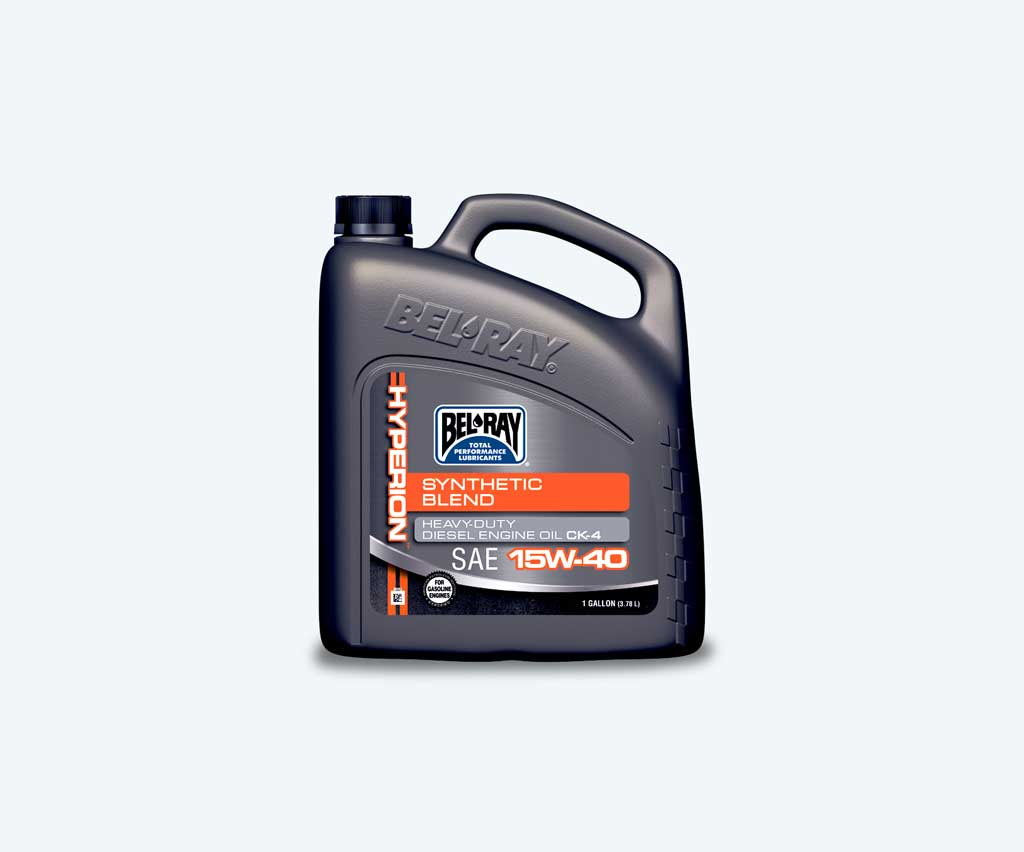 Syn Oil Hyperion Synthetic Blend Ck 4 Motor Oil Bel Ray Company