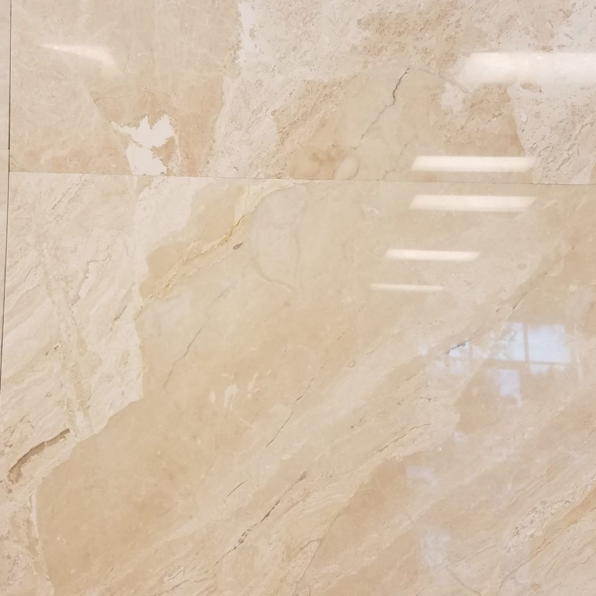 24*24 2424 Polished Light Colombus Marble Travertine Pavers