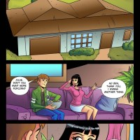 Ben Ten Ultimate Alien [Drawn-Hookup]: Ben and Julie will not get bored home alone!