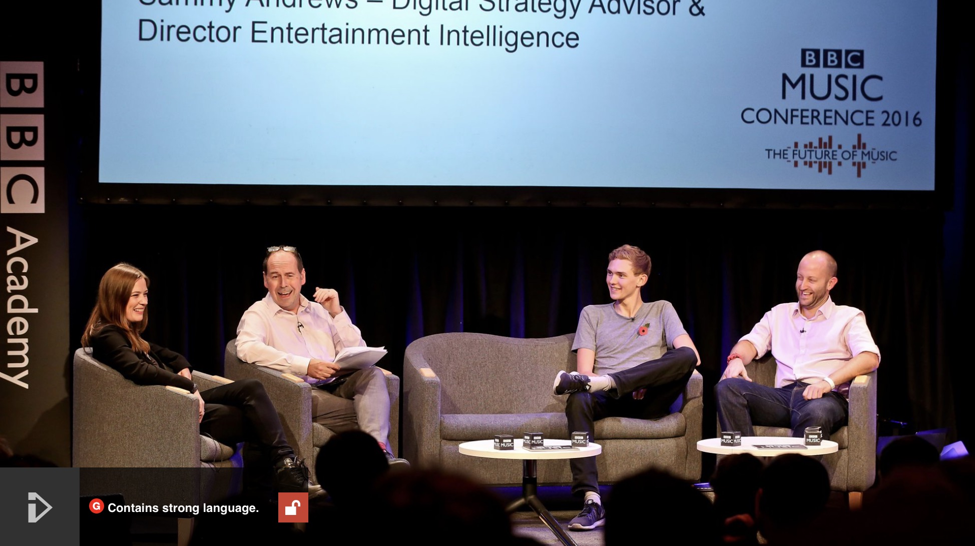 BBC Future Music Conference 2016 – The End of Innovation in Digital Music