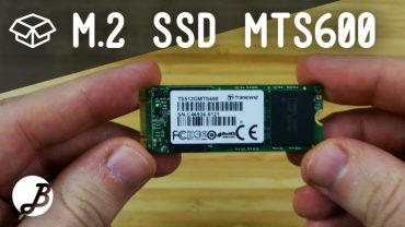 SSD M.2 Trascend MTS600 512GB – Unboxing