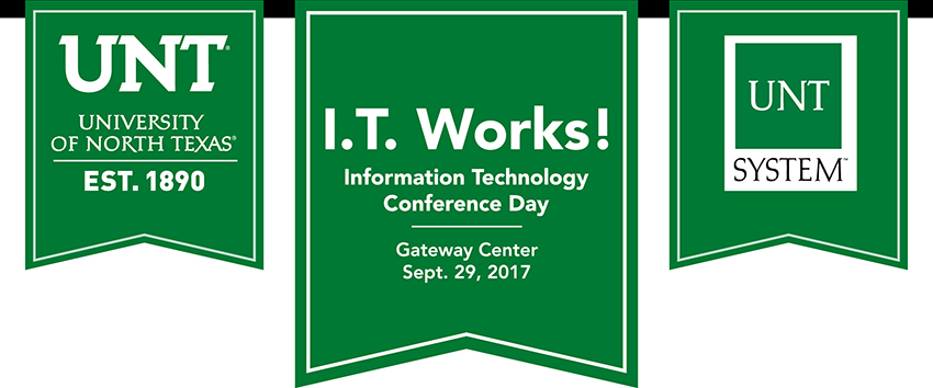 Save the date now for IT Works! in September Benchmarks Online - unt blackboard