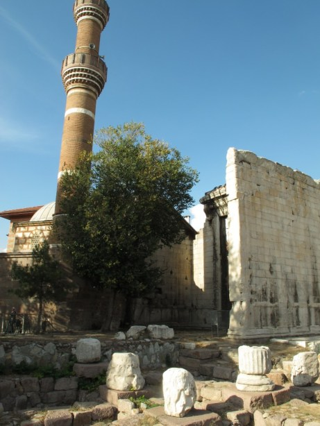 Haci Bayram Camii and Temple of Augustus