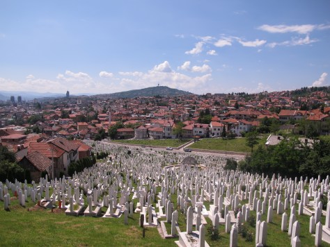 Fatalistic Bosnian Sarajevo