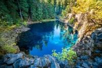 Blue Pool McKenzie River