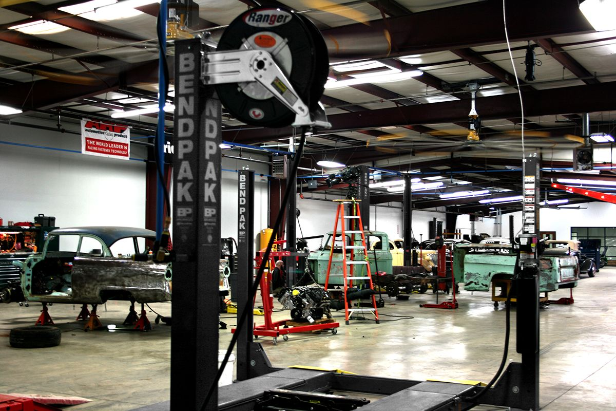 Garage Gym With Car Gas Monkey Garage