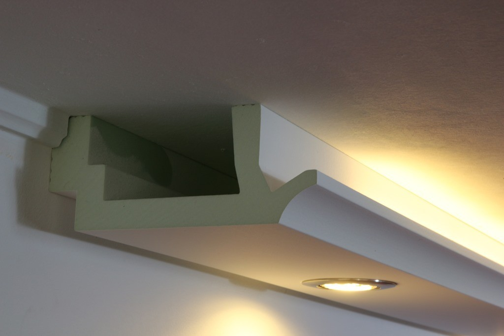"Indirekte Beleuchtung Led Wohnzimmer Led Stuckprofil ""wdkl-200b-pr"" Indirekte Beleuchtung Wand"