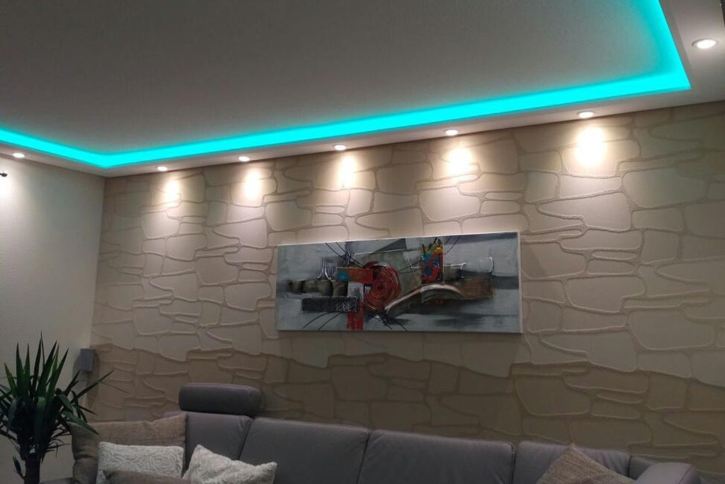 Indirekte Led Beleuchtung Decke | Lampen Aus Treibholz ...