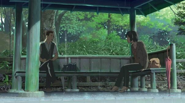 Garden of Words_Yukino and Akizuki