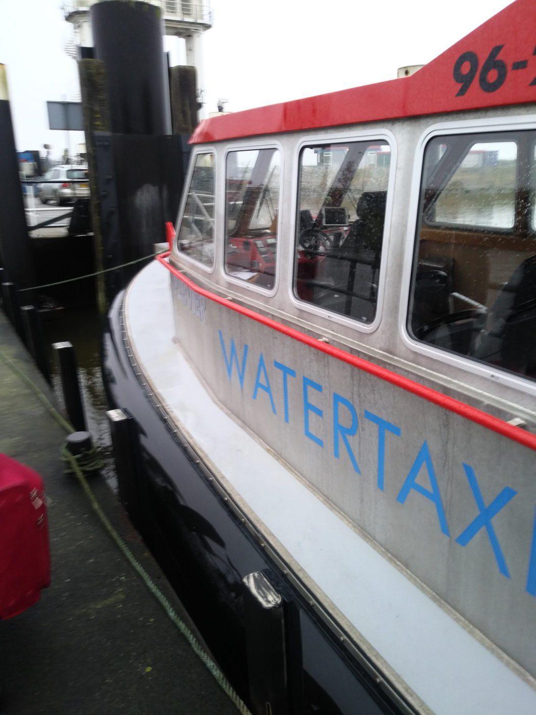 watertaxi to Schiermonnikoog