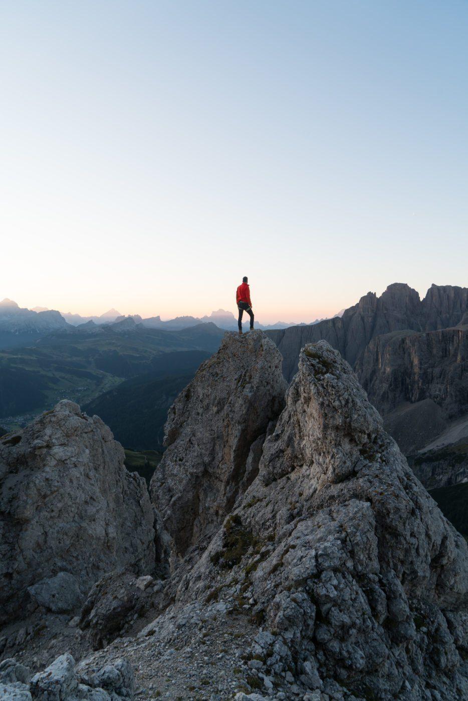 Cir Spitze, Pizes de Cir, famous Instagram spot in the Dolomites