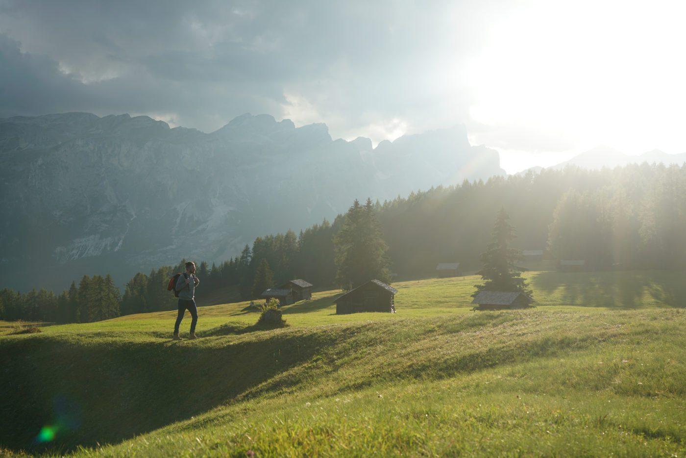 Armentara, famous Instagram location in South Tyrol