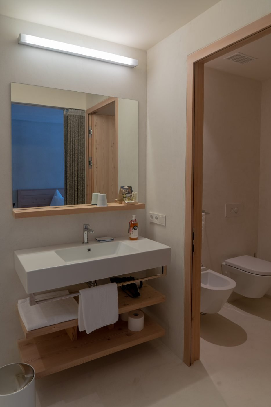 Bathroom from Hotel Bühelwirt in Ahrntal, South Tyrol