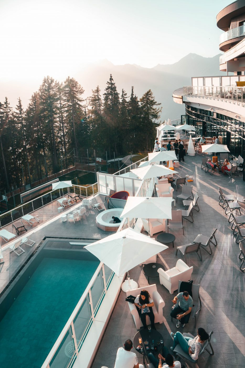 Club Med Arcs Panorama, one of the best luxury hotels in the Alps