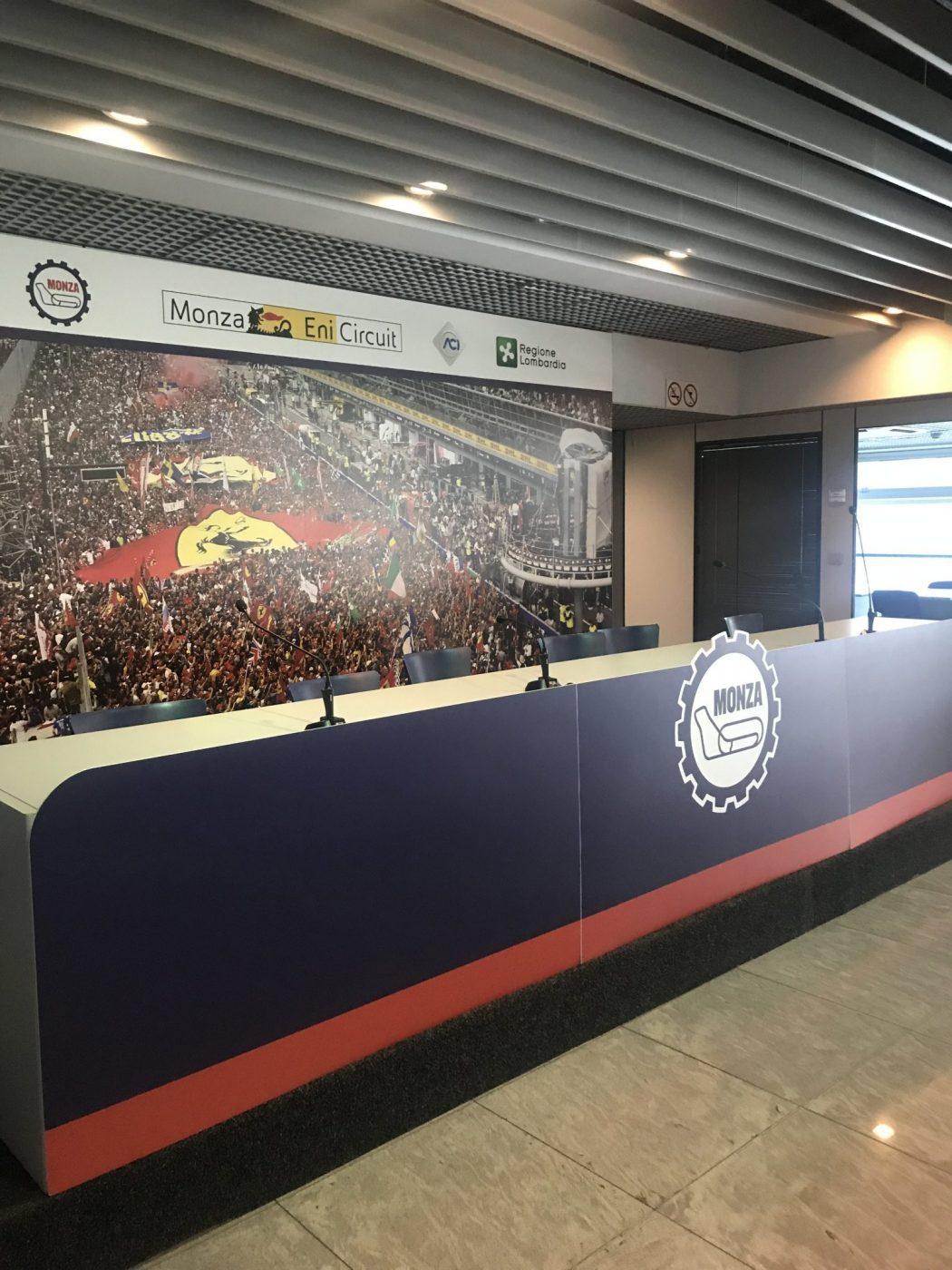 Autodromo di Monza F1 Circuit press center