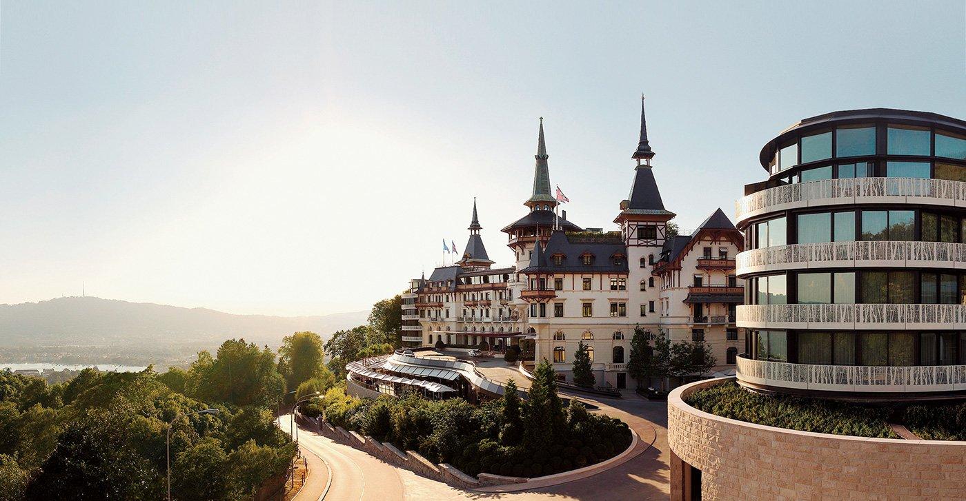 The Dolder Grand, exclusive luxury hotel in Switzerland