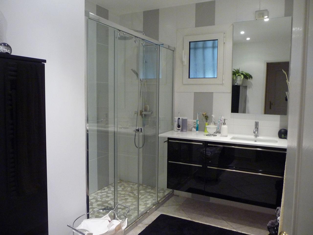 Model de douche moderne salle de bain moderne en bois très