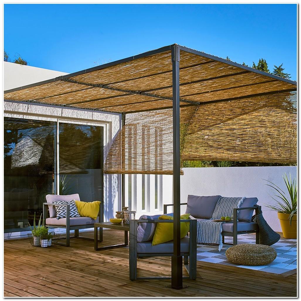 Rideau Pour Terrasse Couverte   Aménager Une Terrasse En Ville Le ...