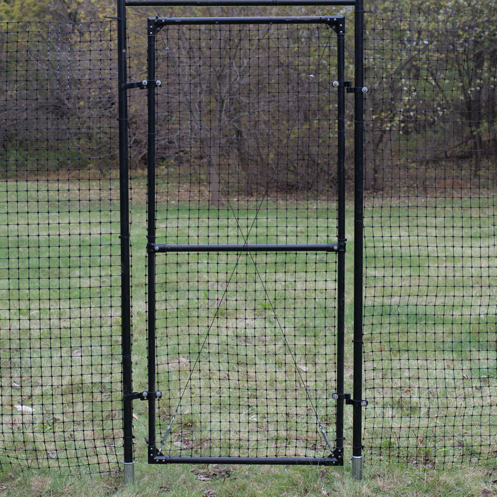 Wire Fencing 7 H Access Gate With Mounting Frame