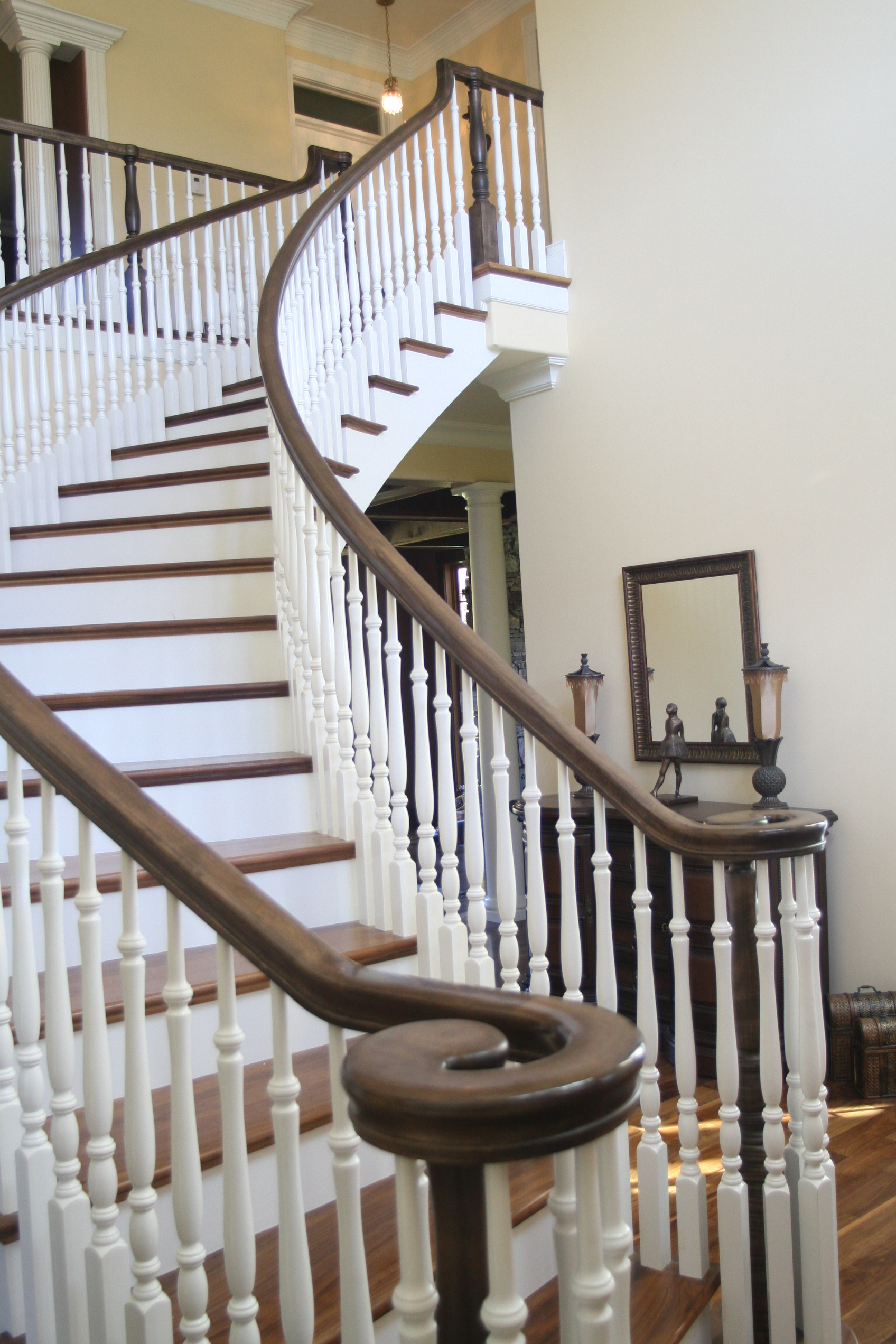 Staircases In Homes Bennett Stair Company Inc Home