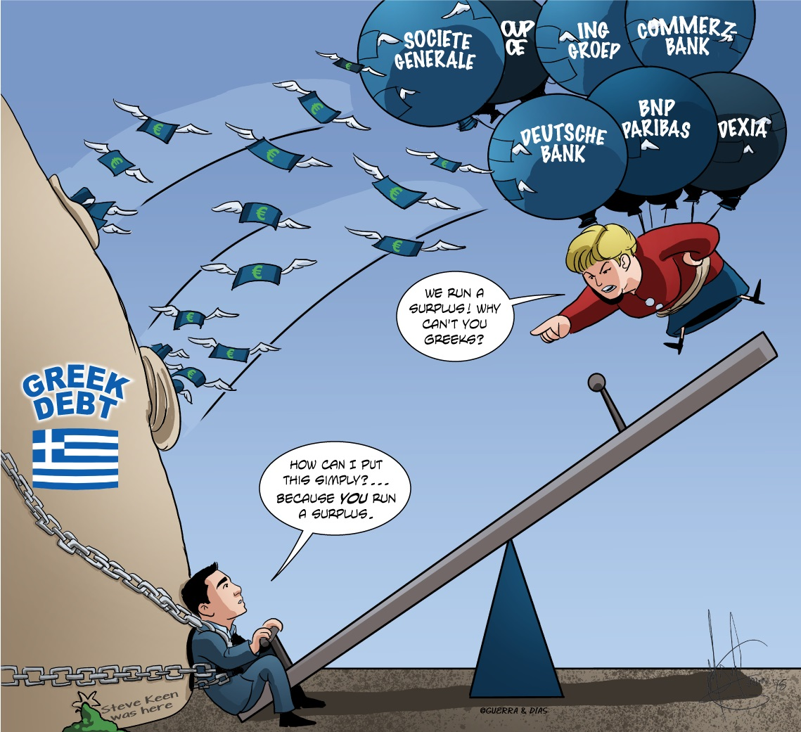 """Economics Professor Warns Greek Debt Is """"Impossible"""" to Pay off Under Troika Austerity Deal"""